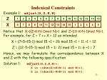 indexical constraints22