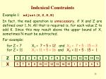 indexical constraints23