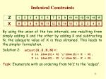 indexical constraints24