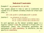 indexical constraints25
