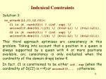 indexical constraints27