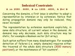 indexical constraints3