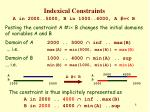 indexical constraints7