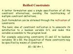 reified constraints