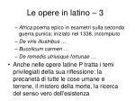 le opere in latino 31