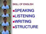 skill of english