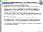 6 help iraq strengthen the rule of law and promote civil rights iraqi judicial system
