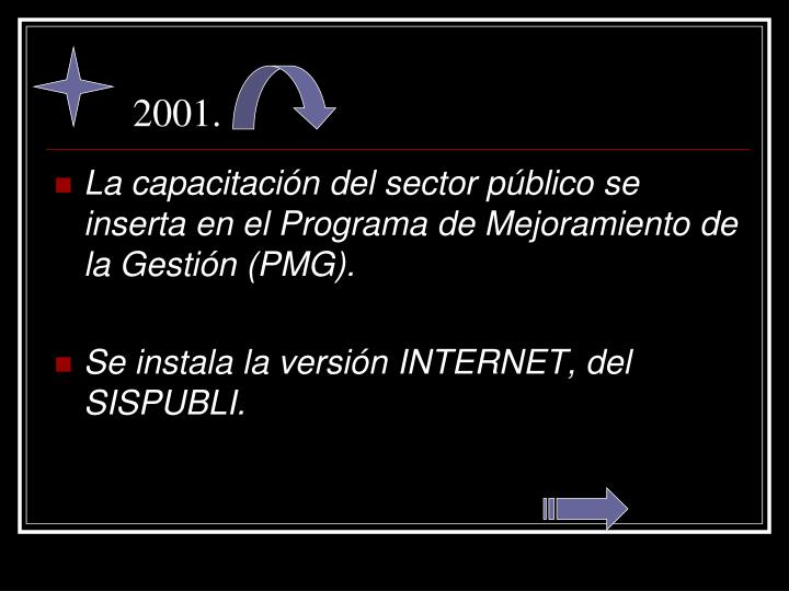 2001.
