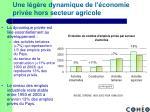 une l g re dynamique de l conomie priv e hors secteur agricole1