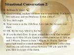 situational conversation 2