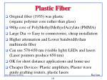 plastic fiber