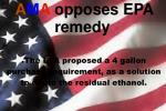 the epa proposed a 4 gallon purchase requirement as a solution to dilute the residual ethanol