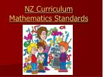 nz curriculum mathematics standards