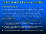 participaci n social y gesti n1