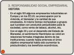 3 responsabilidad social empresarial historia