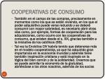 cooperativas de consumo