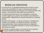 modelos creativos