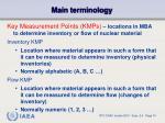main terminology3