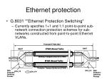 ethernet protection