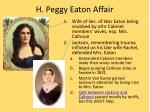 h peggy eaton affair