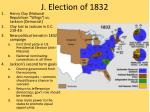 j election of 1832