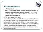factor abundance2