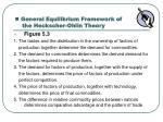 general equilibrium framework of the heckscher ohlin theory