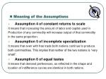 meaning of the assumptions2