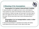 meaning of the assumptions4