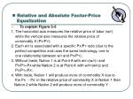 relative and absolute factor price equalization1