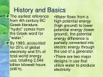 history and basics