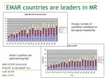 emar countries are leaders in mr