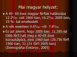 mai magyar helyzet