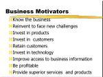 business motivators