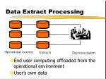 data extract processing