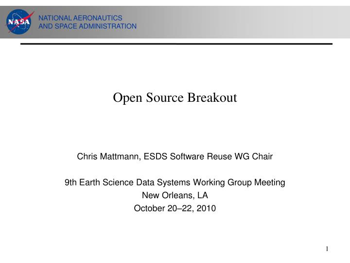 open source breakout n.