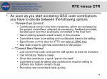 rtc versus ctr
