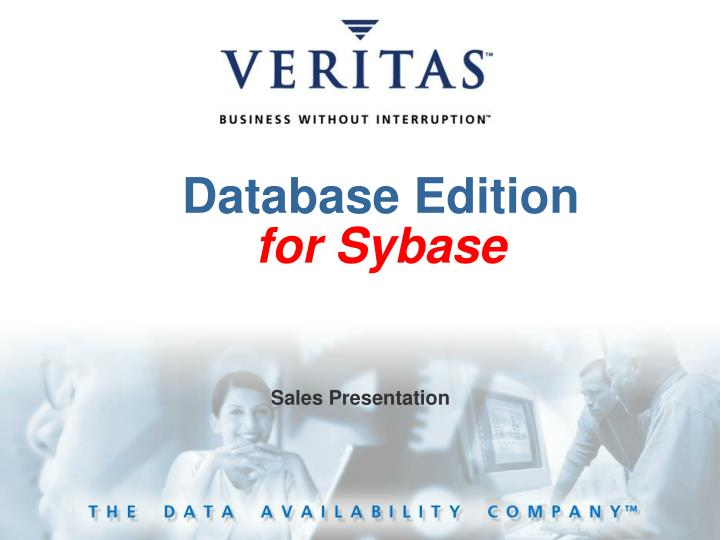 database edition for sybase n.