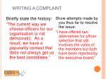 writing a complaint1