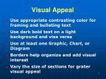 visual appeal