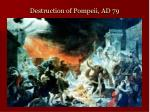 destruction of pompeii ad 79