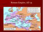 roman empire ad 14