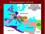 roman empire ad 476