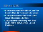 ejb und j2ee