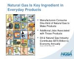 natural gas is key ingredient in everyday products