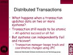 distributed transactions1