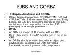 ejbs and corba