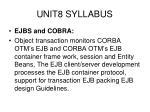 unit8 syllabus