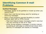 identifying common e mail problems4