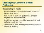 identifying common e mail problems5